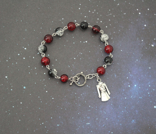 A Darker Shade of Magic Bead Bracelet