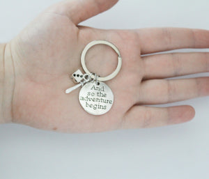 RPG Adventure Keychain Customizable!