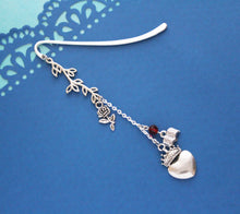 Beauty and the Beast Charm Bookmark