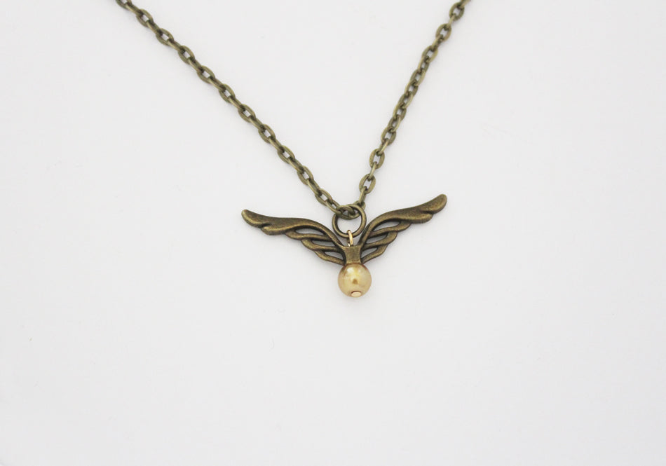 Winged Snitch Necklace