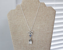 Disney Castle Bow Necklace