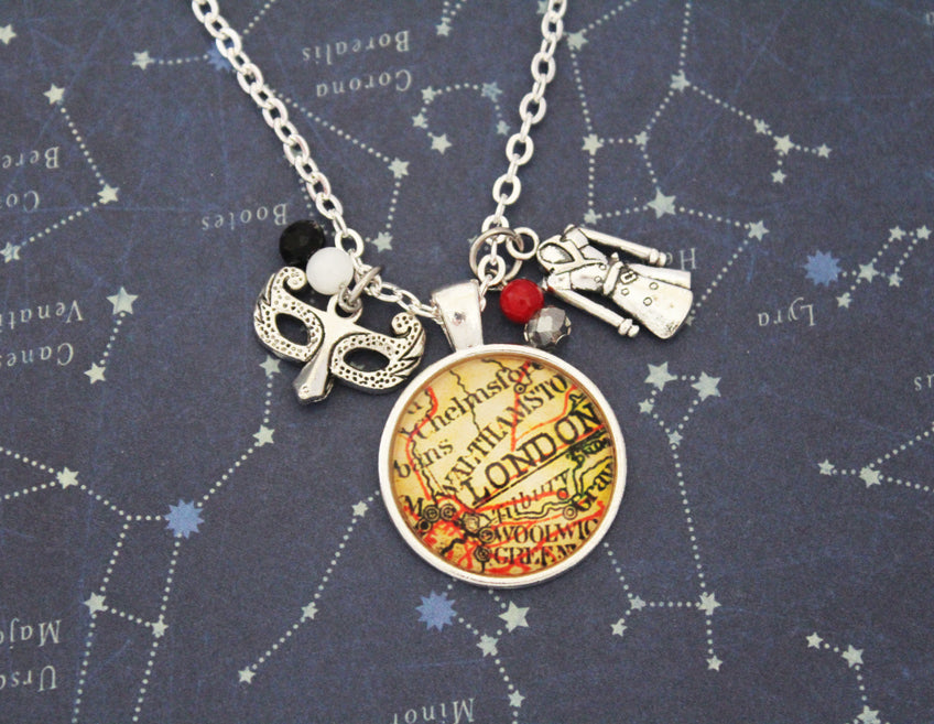 A Darker Shade of Magic London Pendant