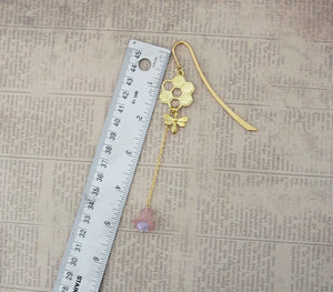 Gold Bee Bookmark