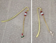 Gold Belle Charm Bookmark