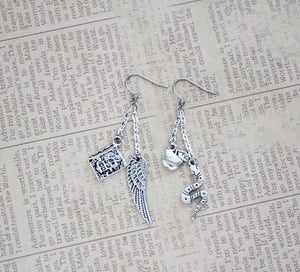 Good Omens Charm Earrings