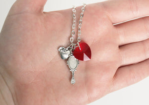 Snow White Charm Necklace