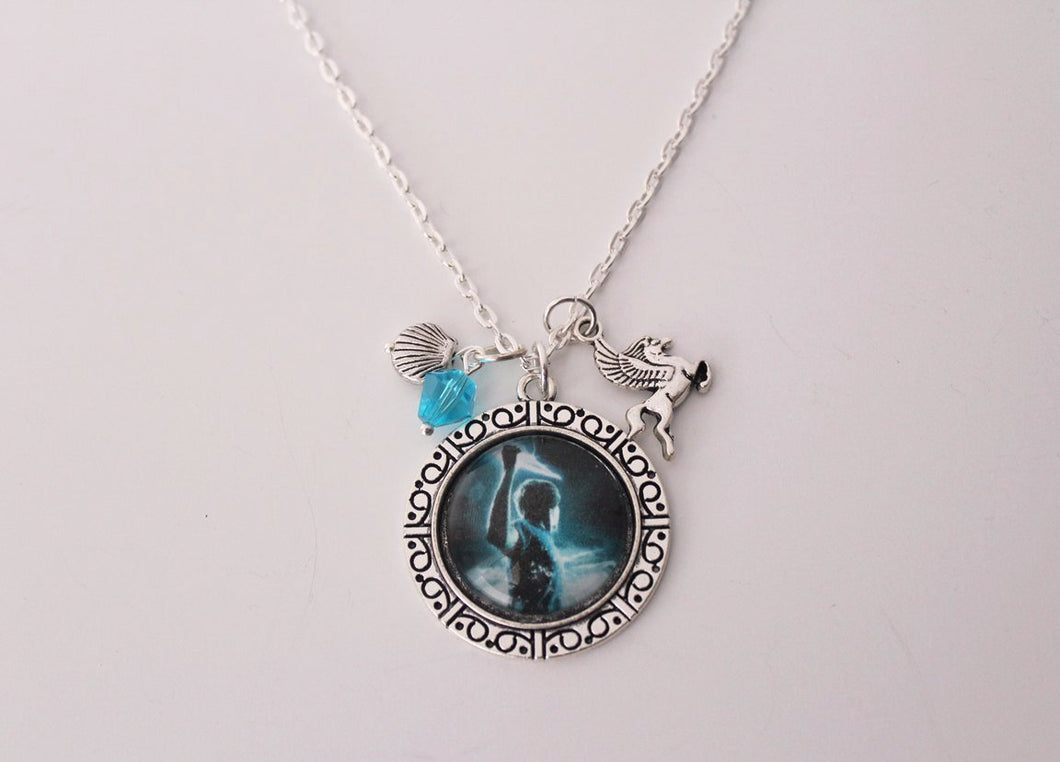 Percy Jackson Pendant Necklace