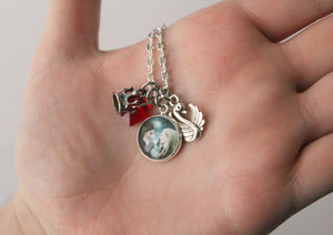 Emma and Regina Swan Queen Pendant Necklace