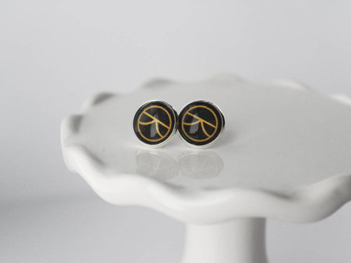Kingsman the Secret Service Silver Stud Earrings