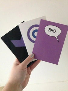 Hawkeye Note Cards