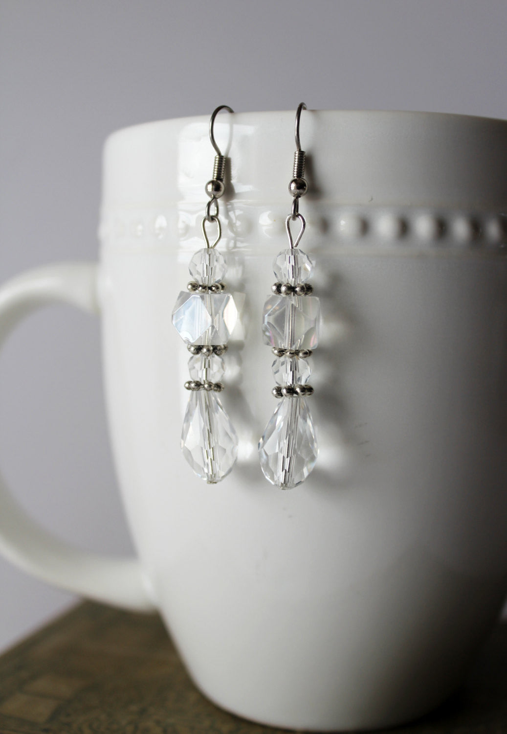 Ice Queen Chandelier Crystal Earrings