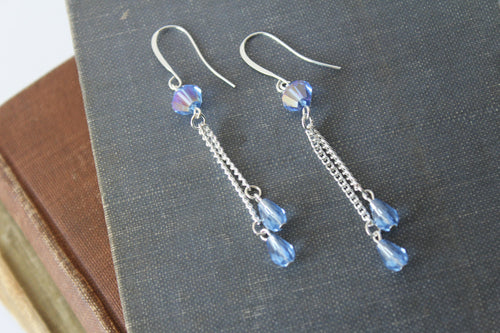 Cinderella Crystal Earrings