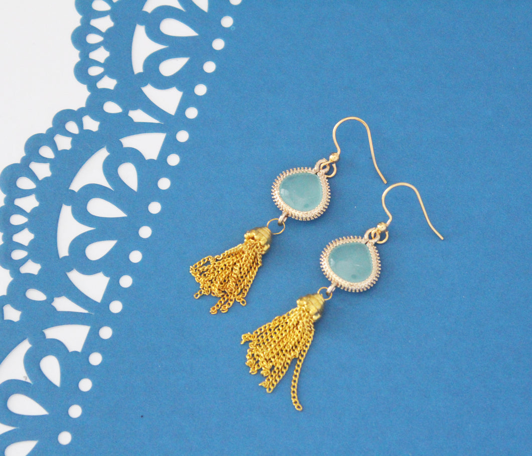 Jasmine Tassel Earrings