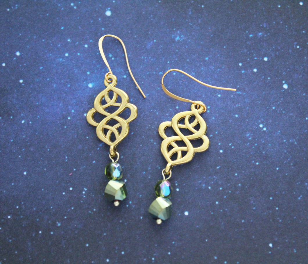 Fancy Loki Earrings