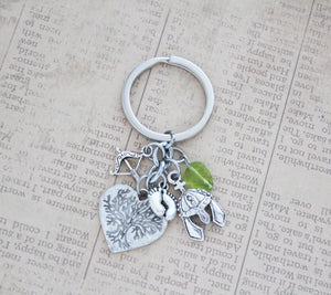 Fellowship Charm Keychain