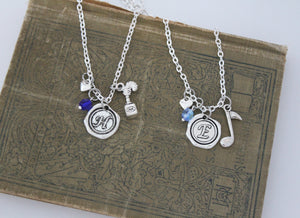 Eliza and Hamilton Necklace Set