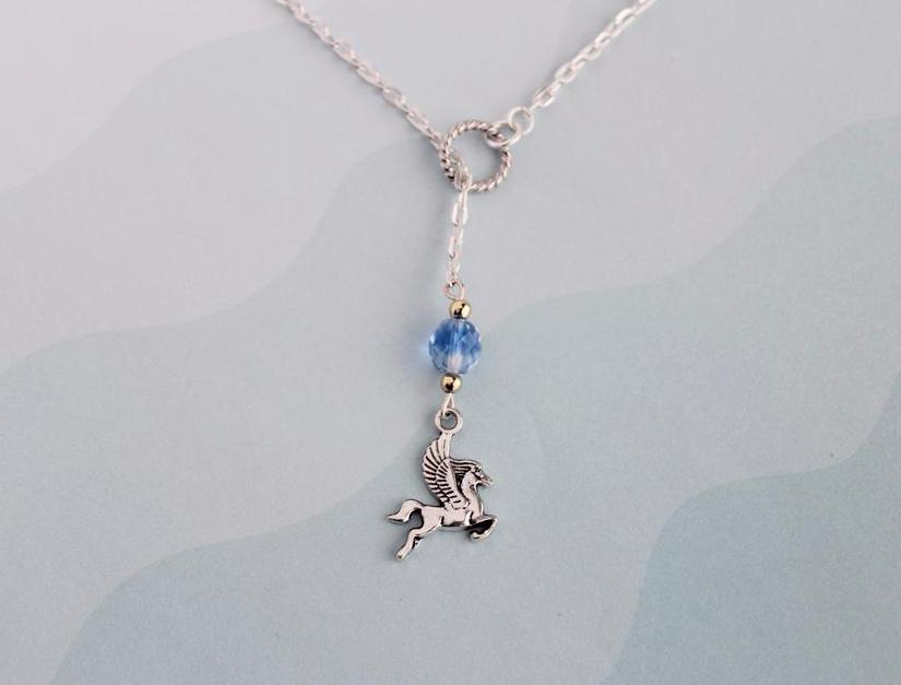 Hercules Pegasus Pendant Necklace