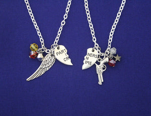 Bucky and Sam Best Friends Necklace Set