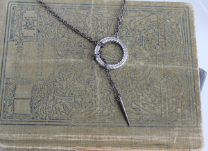 Sansa Stark Chain and Ring Necklace