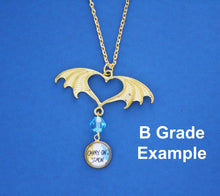 Carry On Simon Dragon Wing Pendant