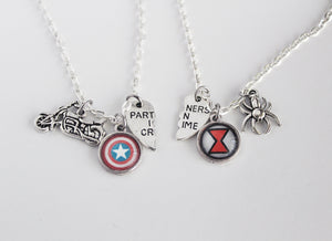 Steve and Natasha Friendship Necklace Set