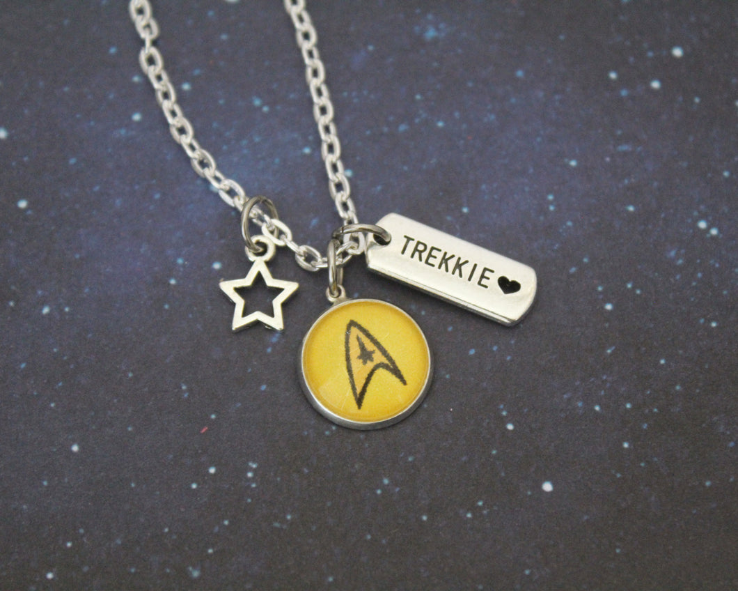 Star Trek Command Charm Necklace