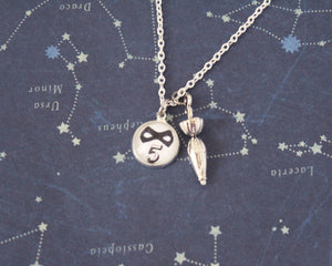 Umbrella Academy Silver Pendant Necklace
