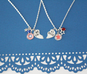 Steve Bucky BFF Necklace Set