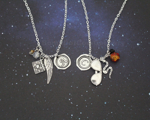 Good Omens Necklace Set