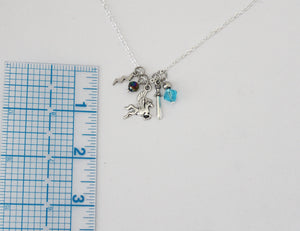 Valkyrie Charm Necklace