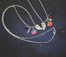 Wanda and Vision Necklace set, customizable!