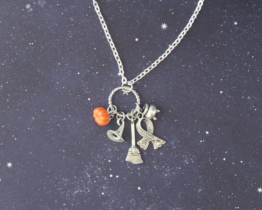 Hogwarts Halloween Witch Pendant