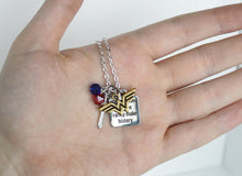 Wonder Woman Charm Necklace 'Well Behaved Women Rarely Make History' Quote