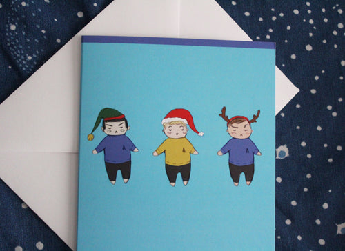 Star Trek Triumvirate Holiday Card