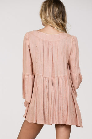 Bell Sleeve Flow Top