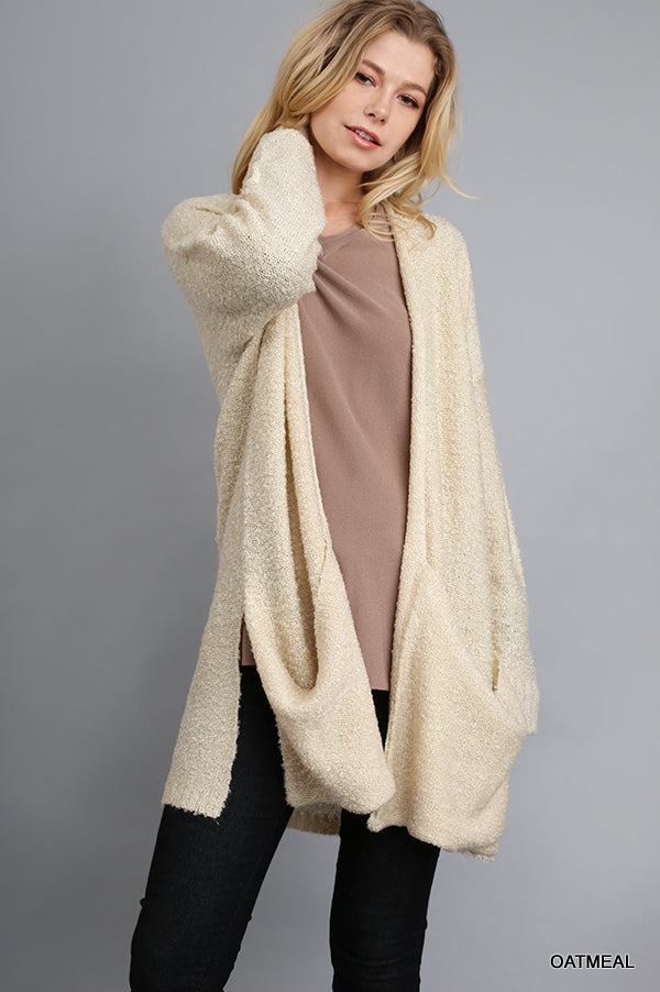 Cozy Cardigan With Pockets