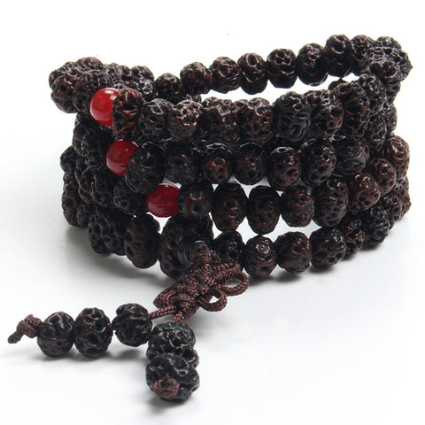 Antique Style Yoga Buddhist Mala 108 - Witchie Woo