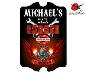 "Small 15x11 Bar Sign ""Garage"" #46"