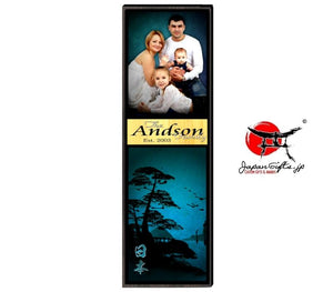 "23"" x 7"" Photo Vertical Plaque #7"
