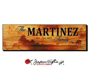 "23"" x 7"" Name Sign ""Landscape"" #3"