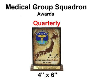 35th MDG Squadron Awards (1st Q2019) 34qty BULK ORDER