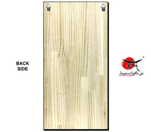 "Vertical 11"" x 23"" Wood Wall Plaque ""CUSTOMIZED"""