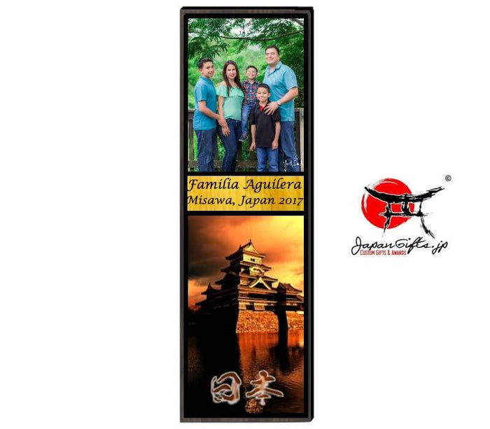 "23"" x 7"" Photo Vertical Plaque ""CUSTOMIZED"""