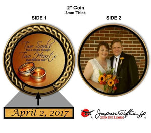"2"" dia. Custom Color Imprinted Coin ""CUSTOMIZED"""