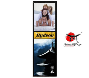 "(LARGE) 23"" x 7"" Photo Vertical Plaque ""CUSTOMIZED"" TEST#600"