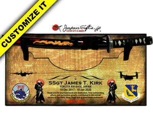"Small Sword 23"" x 11"" Wall Plaque ""Removable Sword"" #SW-S028-R"