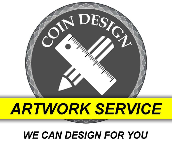Coin Design Artwork Service