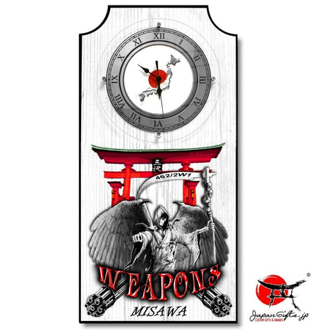 "Vertical Clock ""Weapons/Gate"" #7"