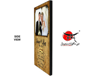 "(LARGE) Vertical 15"" x 23"" Wood Wall Photo Plaque #PP-V1523-200"