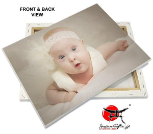 "Horizontal (SMALL) A4 8""x10"" Canvas Photo Imprint #2"